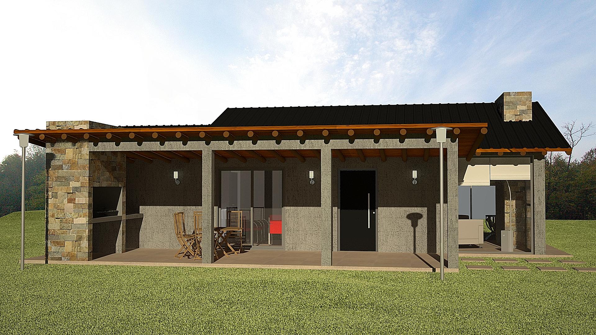 Proyecto y dise o de caba as ikaa arquitectos for Disenos de cabanas